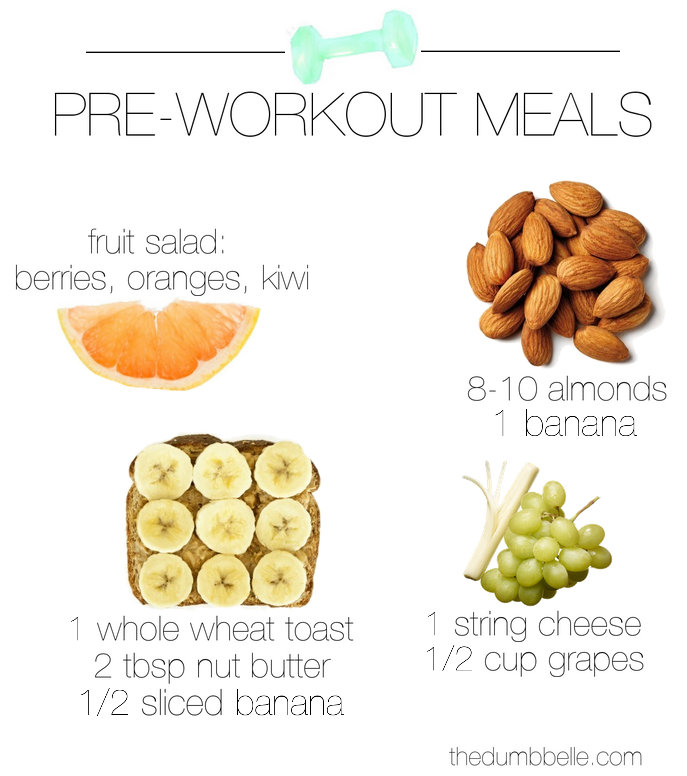 51 Best Trail Food And Cooking Ideas Images On Pinterest: What To Eat Pre-Workout