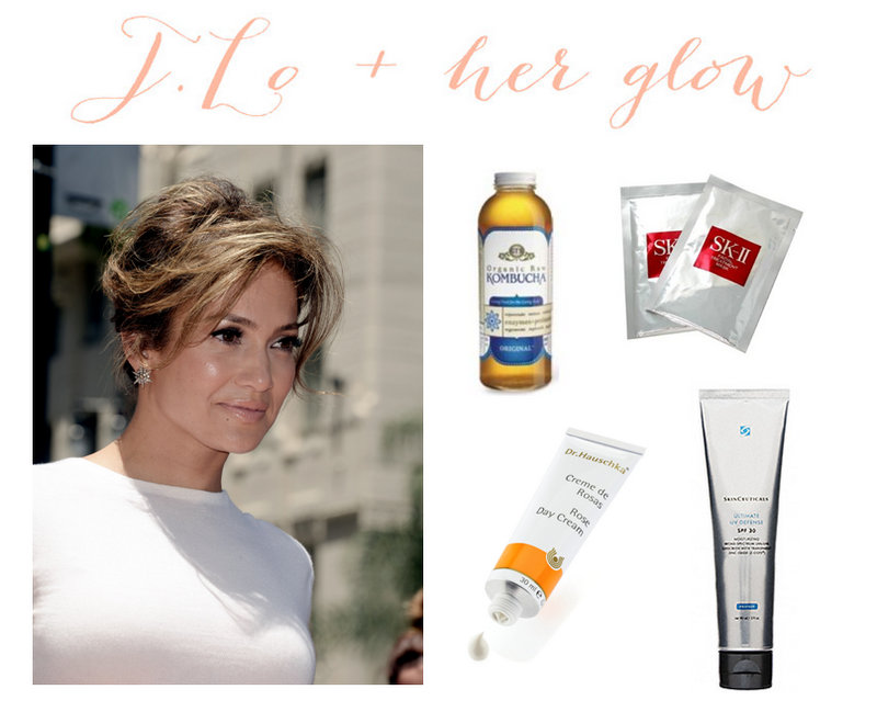 Jennifer lopez and her glowing skin the dumbbelle