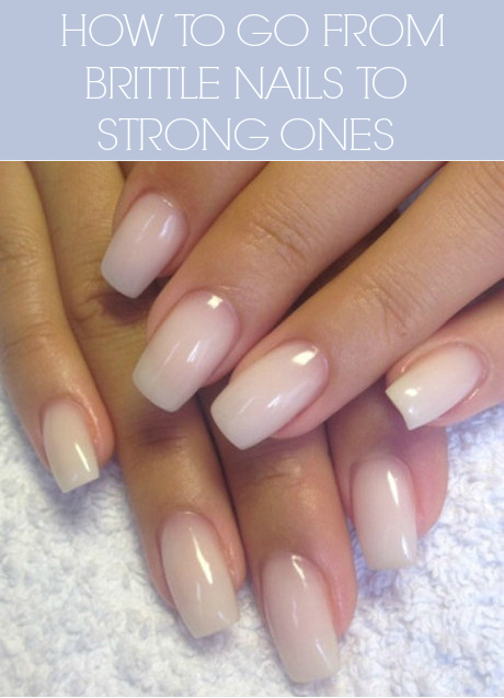 how to grow stronger nails
