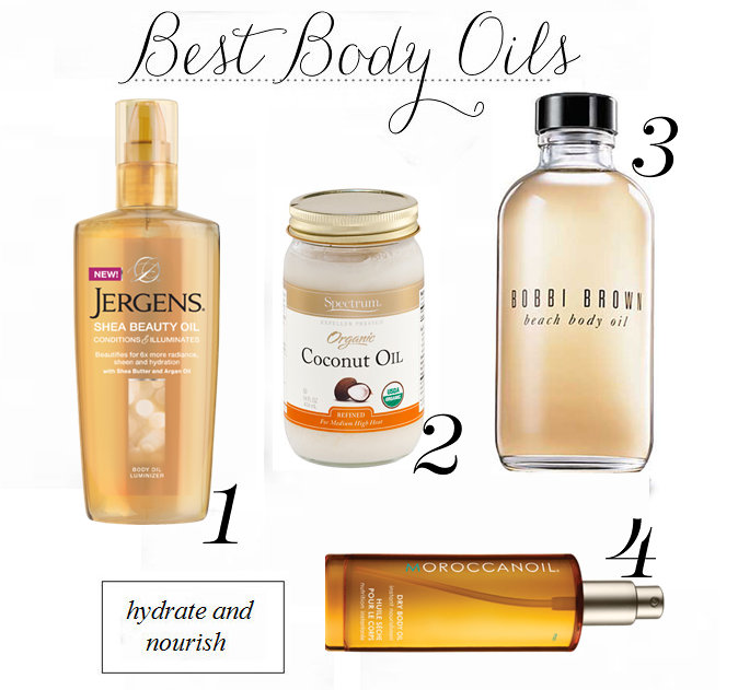 best body oils