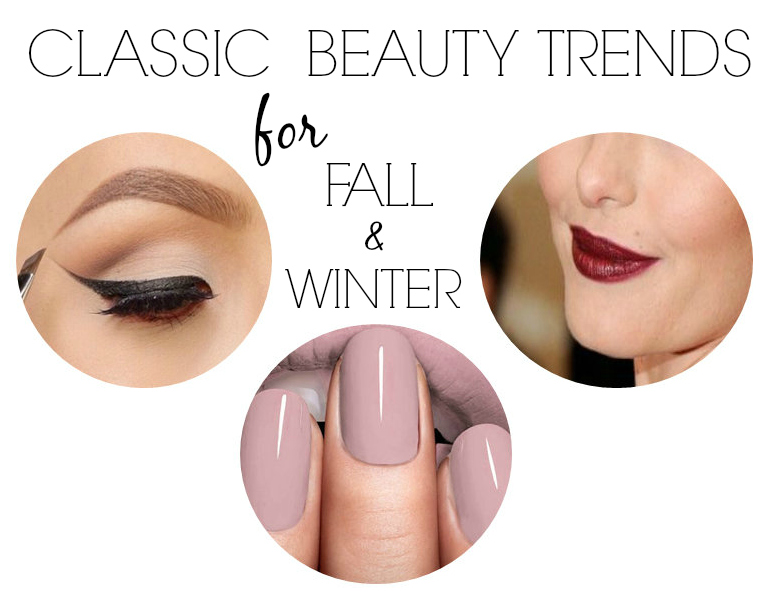 classic beauty trends for fall and winter