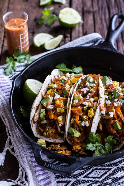 Easy-Chicken-Fajitas-with-Cheesy-Enchilada-Rice-+-Spicy-Tex-Mex-Special-Sauce.-51
