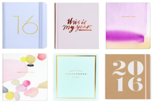 Get Ready for 2016 With These Cute Journals