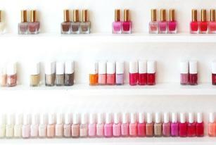 5 Cute Nail Polish Organization Ideas - The Dumbbelle