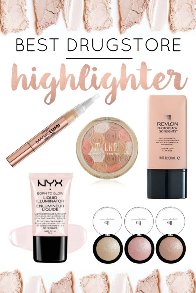 best drugstore highlighters