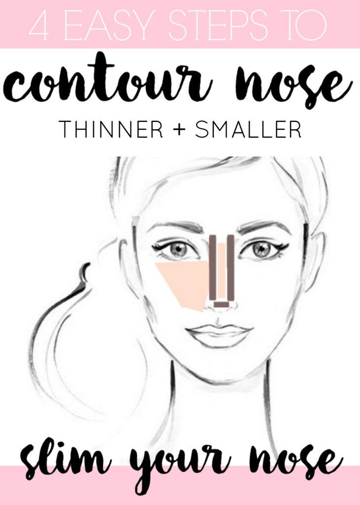 contour your nose