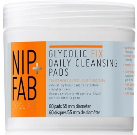 Nip + Fab Glycolic Fix Daily Cleansing Pads, 60 pads